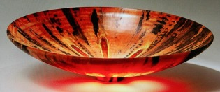 woodturning 3 luminous bowl pugent sound