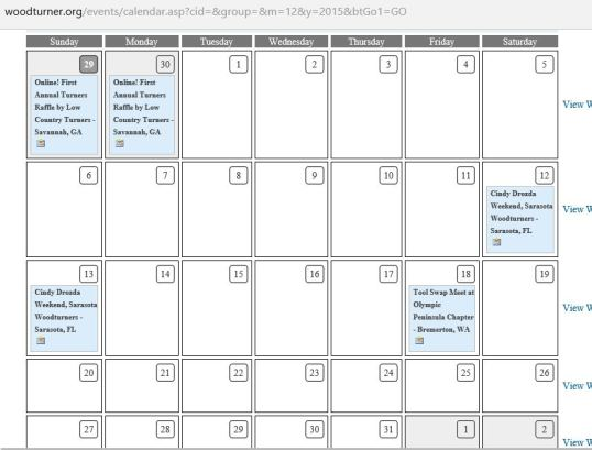 aaw dec 2015 calendar
